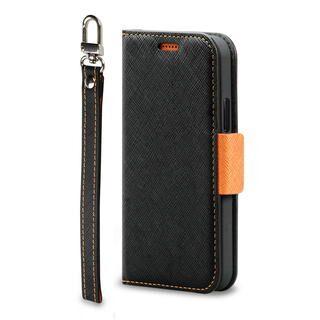 iPhone 12 / iPhone 12 Pro (6.1インチ) ケース Corallo NU  iPhoneケース Black+Orange iPhone 12/iPhone 12 Pro