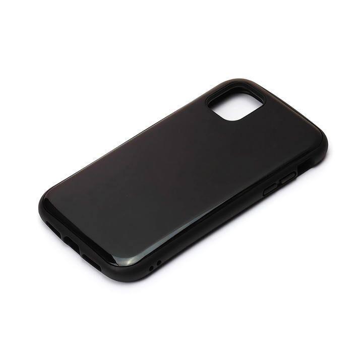 ハイブリッドタフケース ブラック iPhone 12 mini_0
