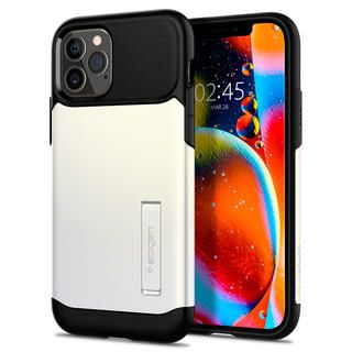 iPhone 12 / iPhone 12 Pro (6.1インチ) ケース Spigen Slim Armor Pearl White iPhone 12/iPhone 12 Pro