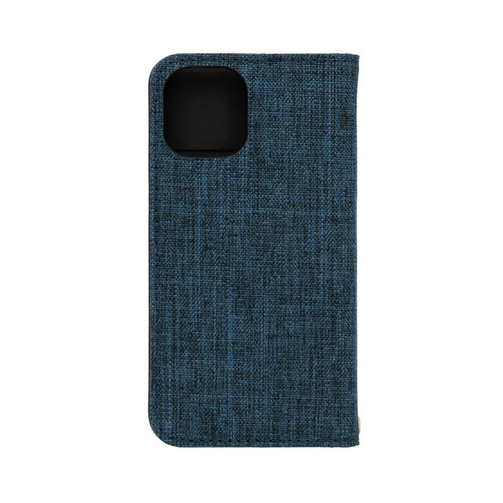 手帳型ケース ネイビーxブラック iPhone 12 mini_0