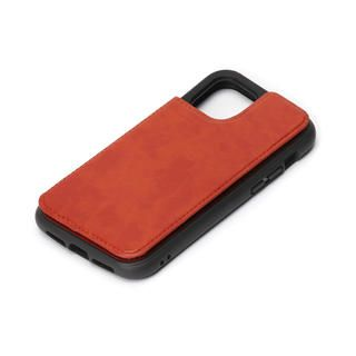 iPhone 12 mini (5.4インチ) ケース タフバックフリップケース ブラウン iPhone 12 mini