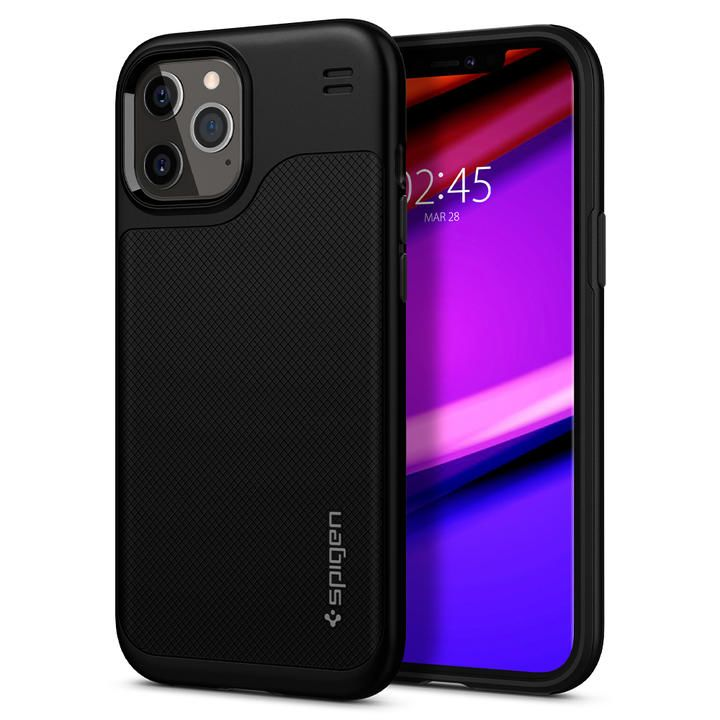 Spigen Hybrid NX Matte Black  iPhone 12 Pro Max_0
