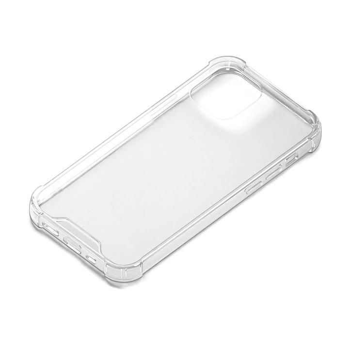 抗菌TPUハイブリッドクリアケース クリア  iPhone 12/iPhone 12 Pro_0