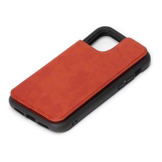 iPhone 12 / iPhone 12 Pro (6.1インチ) ケース タフバックフリップケース ブラウン iPhone 12/iPhone 12 Pro
