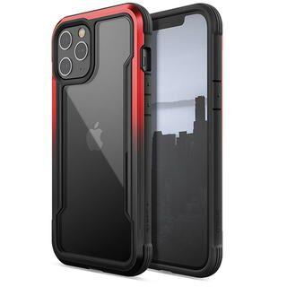 iPhone 12 Pro Max (6.7インチ) ケース RAPTIC Shield  iPhoneケース Black/Red Gradient iPhone 12 Pro Max