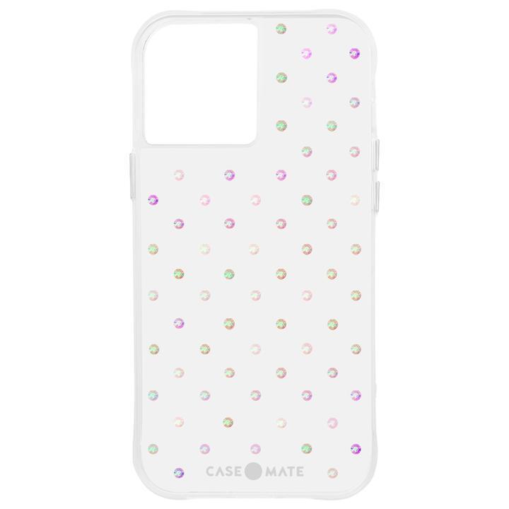 Case-Mate 抗菌・3.0m落下耐衝撃ケース Iridescent Gems iPhone 12 mini_0