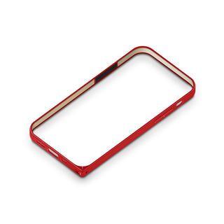 iPhone 12 mini (5.4インチ) ケース アルミニウムバンパー レッド iPhone 12 mini