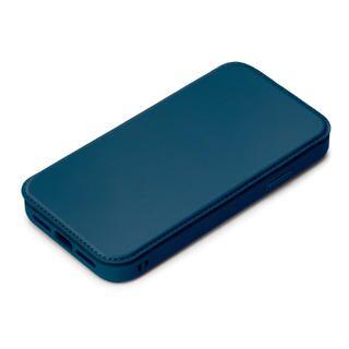 iPhone 12 / iPhone 12 Pro (6.1インチ) ケース ガラスフリップケース ネイビー iPhone 12/iPhone 12 Pro【10月下旬】