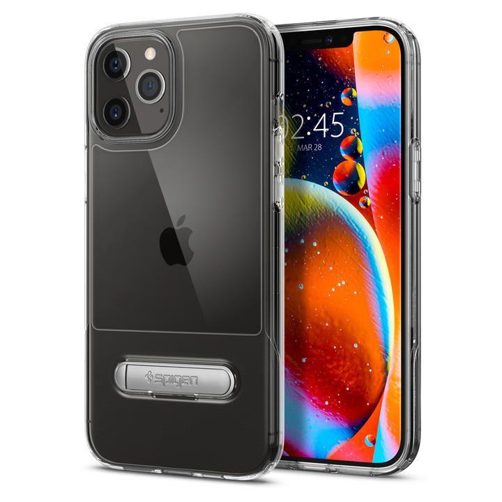 Spigen Slim Armor Essential Crystal Clear iPhone 12 Pro Max【10月下旬】_0