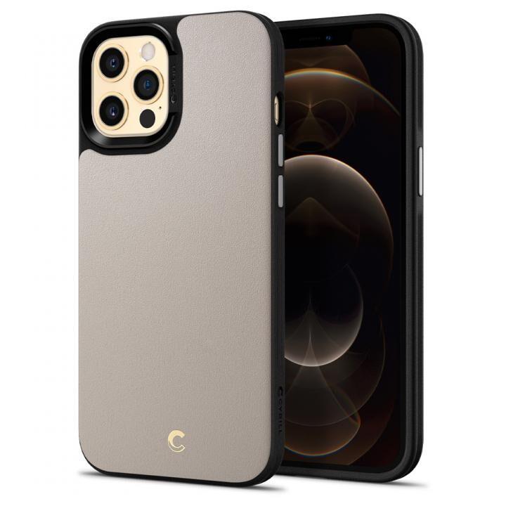 Spigen Leather Brick Stone iPhone 12 Pro Max_0