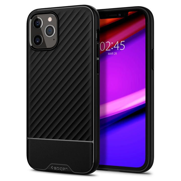 Spigen Core Armor Matte Black iPhone 12 Pro Max_0