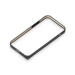 iPhone 12 mini (5.4インチ) ケース アルミニウムバンパー ブラック iPhone 12 mini【8月中旬】