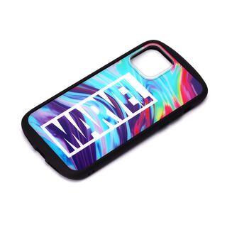 iPhone 12 mini (5.4インチ) ケース ガラスタフケース ロゴ/マーブル iPhone 12 mini