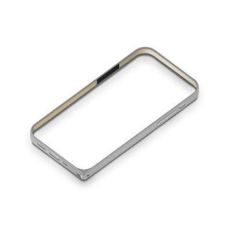 iPhone 12 mini (5.4インチ) ケース アルミニウムバンパー シルバー iPhone 12 mini