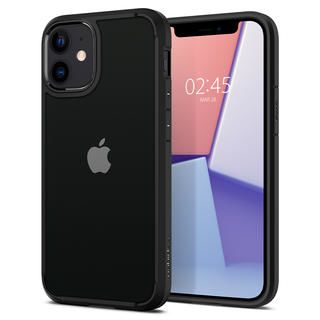 iPhone 12 mini (5.4インチ) ケース Spigen Crystal Hybrid Matte Black iPhone 12 mini
