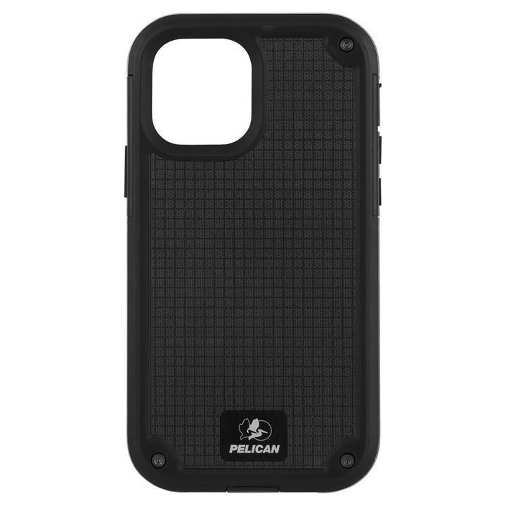 Pelican 抗菌 6.4m落下耐衝撃ケース Shield Black G10 ホルスタースタンド付属 iPhone 12 mini_0