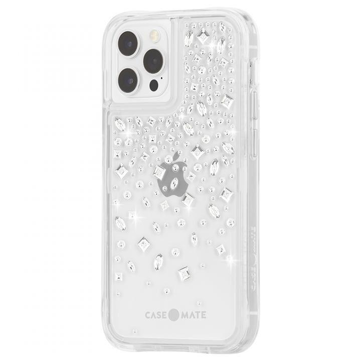 Case-Mate 抗菌・3.0m落下耐衝撃ケース Karat Crystal iPhone 12 Pro Max_0