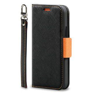 iPhone 12 Pro Max (6.7インチ) ケース Corallo NU  iPhoneケース Black+Orange iPhone 12 Pro Max