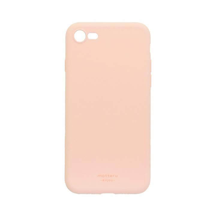 iPhone8/7 ケース SOFUMO 背面型シリコンケース ピンク iPhone SE2/8/7_0