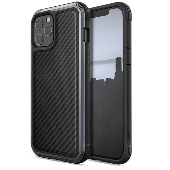 RAPTIC Lux  iPhoneケース Black Carbon iPhone 12 Pro Max【11月中旬】_0