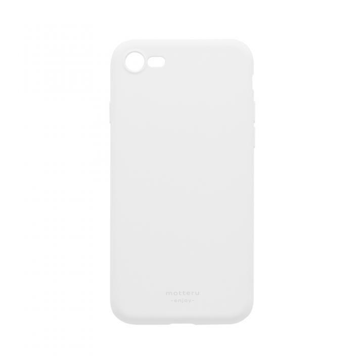 iPhone8/7 ケース SOFUMO 背面型シリコンケース グレイ iPhone SE2/8/7_0