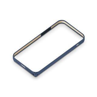 iPhone 12 mini (5.4インチ) ケース アルミニウムバンパー ネイビー iPhone 12 mini