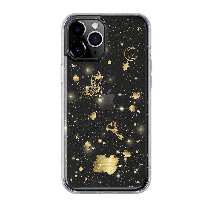 SwitchEasy Lucky Tracy  iPhoneケース Transparent Black iPhone 12 Pro Max_0