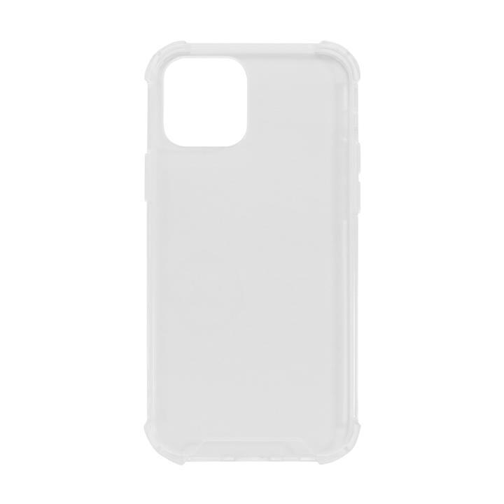 ハイブリッド耐衝撃ケース クリア iPhone 12/iPhone 12 Pro_0