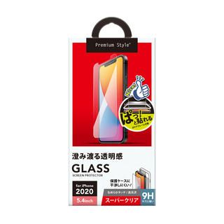 iPhone 12 mini (5.4インチ) フィルム 貼り付けキット付き 液晶保護ガラス スーパークリア iPhone 12 mini