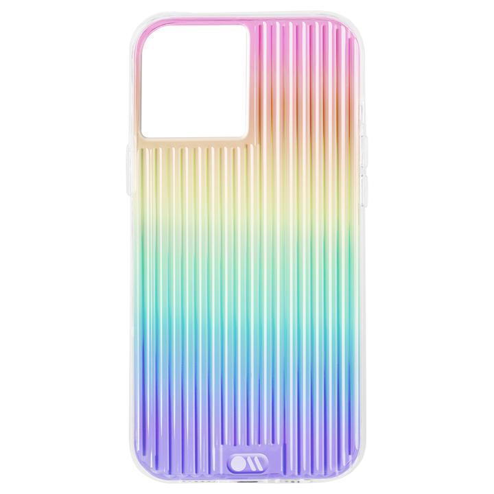 Case-Mate 抗菌・3.0m落下耐衝撃ケース Tough Groove Iridescent iPhone 12/iPhone 12 Pro_0