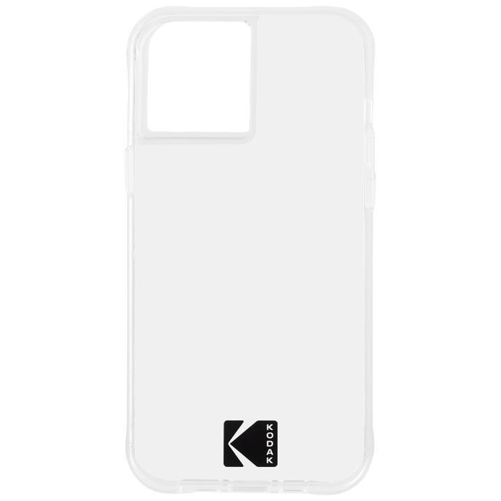 KODAK 3.0m落下耐衝撃ケース Clear Case with Logo iPhone 12/iPhone 12 Pro_0