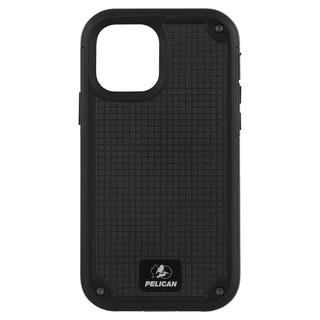 iPhone 12 / iPhone 12 Pro (6.1インチ) ケース Pelican 抗菌 6.4m落下耐衝撃ケース Shield Black G10 ホルスタースタンド付属 iPhone 12/iPhone 12 Pro