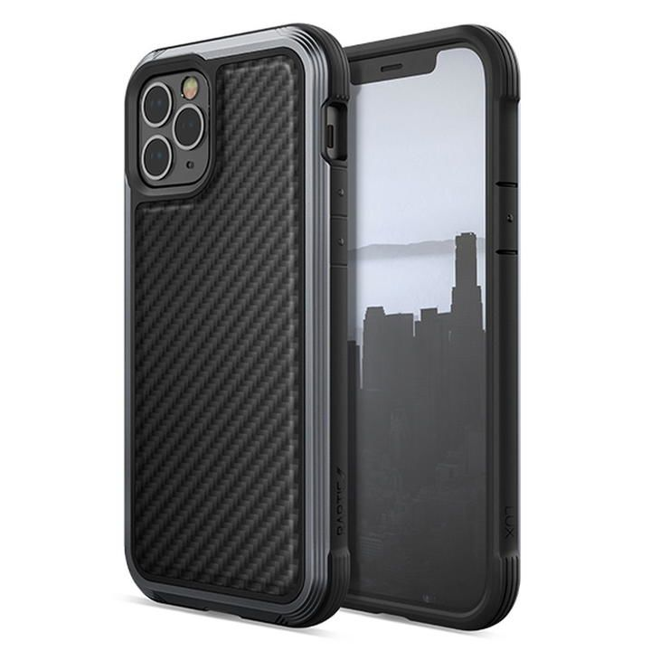 RAPTIC Lux  iPhoneケース Black Carbon iPhone 12/iPhone 12 Pro_0