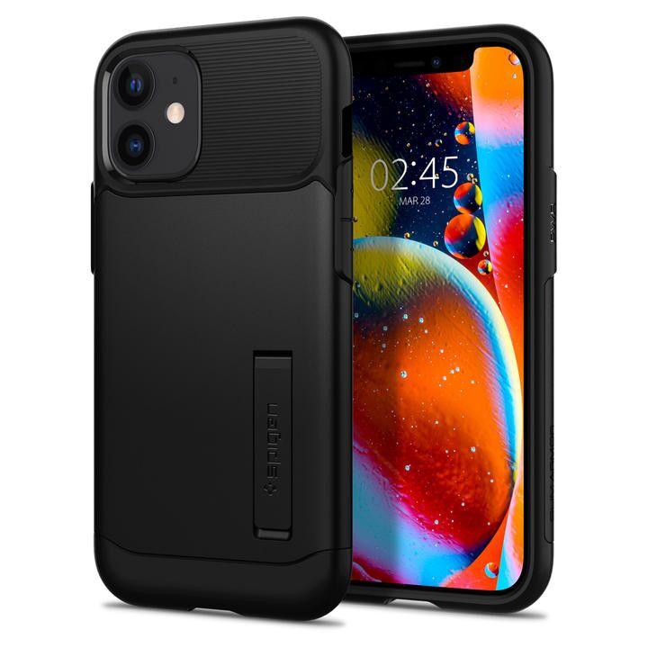 Spigen Slim Armor Black iPhone 12 mini_0