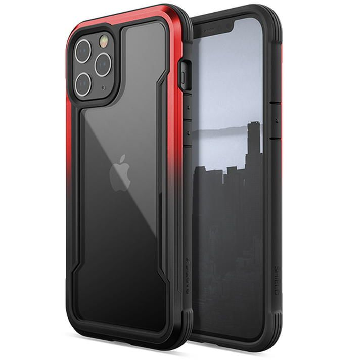 RAPTIC Shield  iPhoneケース Black/Red Gradient iPhone 12 Pro Max_0