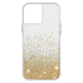 iPhone 12 / iPhone 12 Pro (6.1インチ) ケース Case-Mate 抗菌・3.0m落下耐衝撃ケース Twinkle Ombre Gold iPhone 12/iPhone 12 Pro