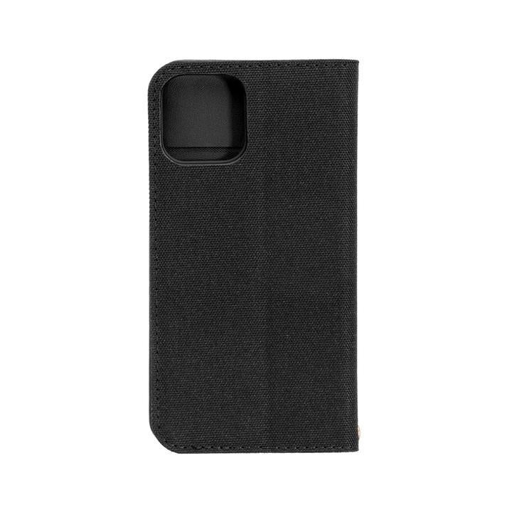 手帳型ケース ブラックxブラック iPhone 12/iPhone 12 Pro_0