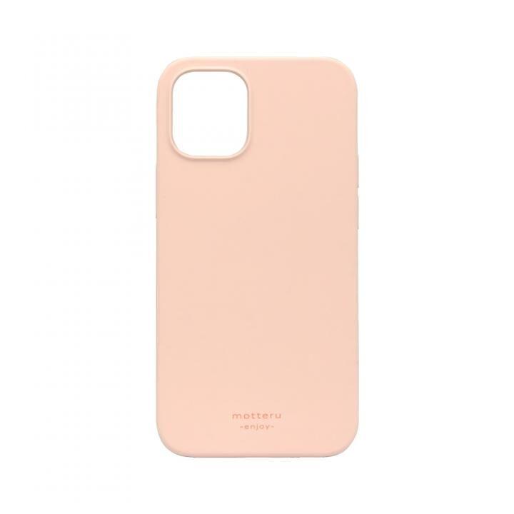 SOFUMO 背面型シリコンケース ピンク iPhone 12 mini_0
