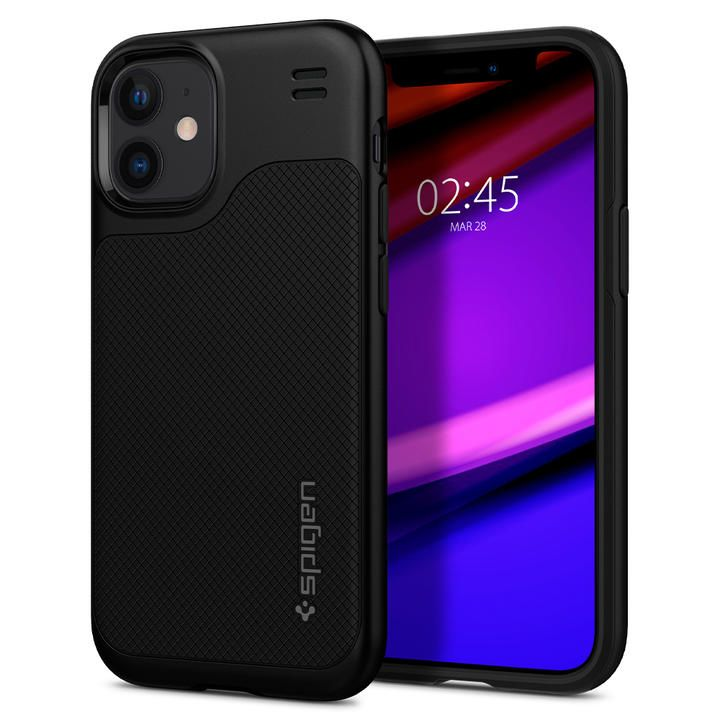 Spigen Hybrid NX Matte Black  iPhone 12 mini_0
