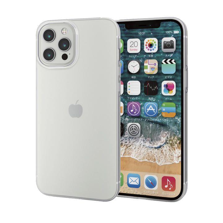 iPhoneケース 耐衝撃 TPU 極薄0.7mm 薄型  iPhone 12 Pro Max_0