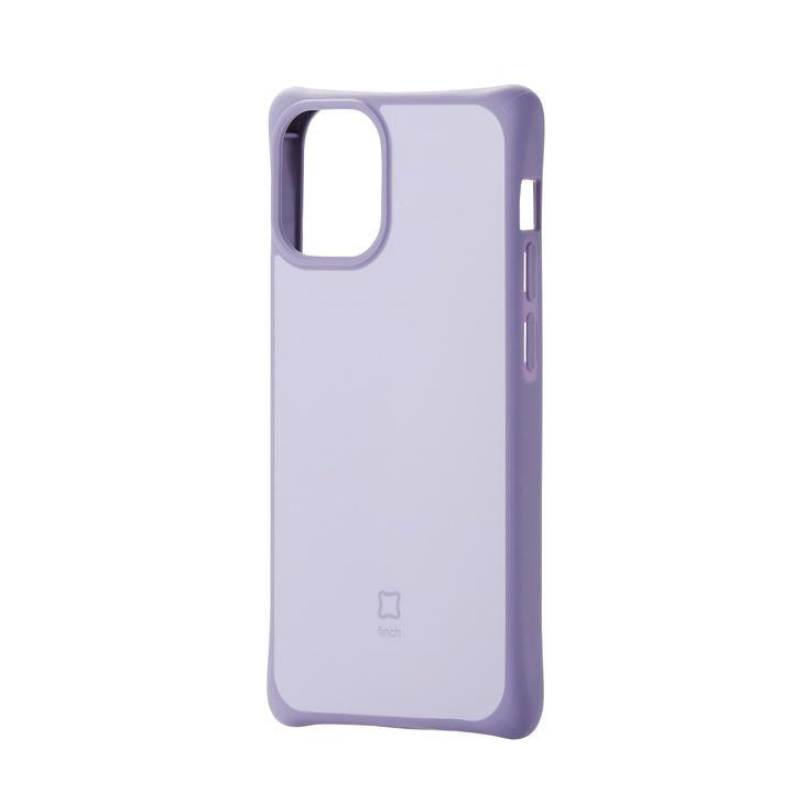 iPhoneケース 耐衝撃 スリム TPU 持ちやすい パープル iPhone 12 mini_0