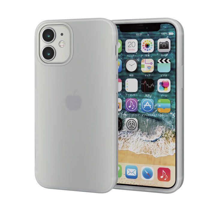 iPhoneケース シリコンケース 持ちやすい クリア iPhone 12 mini_0