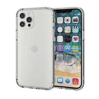 iPhone 12 Pro Max (6.7インチ) ケース iPhoneケース バンパー 耐衝撃 ポリカーボネート TPU クリア iPhone 12 Pro Max