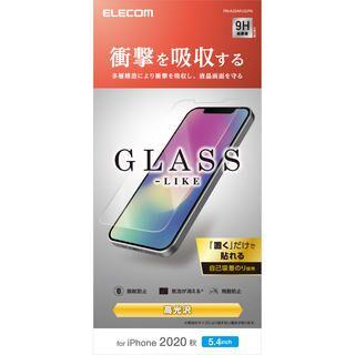 iPhone 12 mini (5.4インチ) フィルム 保護強化ガラス 風 硬度9H 耐衝撃 iPhone 12 mini
