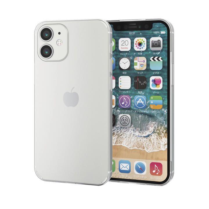 iPhoneケース シェルケース 極薄0.6mm 薄型  iPhone 12 mini_0