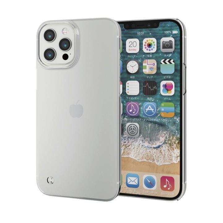 iPhoneケース シェルケース ポリカーボネート 薄型 ストラップホール  iPhone 12 Pro Max_0
