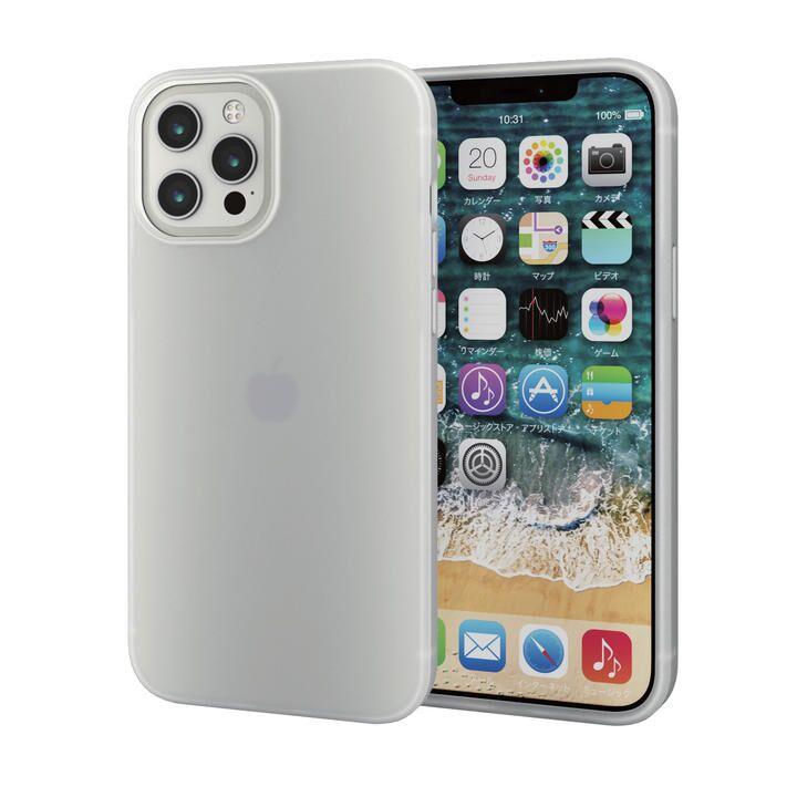 iPhoneケース シリコンケース 持ちやすい クリア iPhone 12 Pro Max_0
