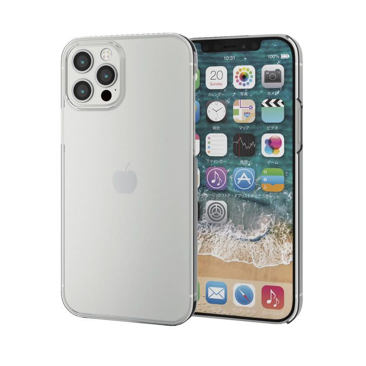 iPhoneケース シェルケース メガネフレーム素材 薄型  iPhone 12/iPhone 12 Pro_0