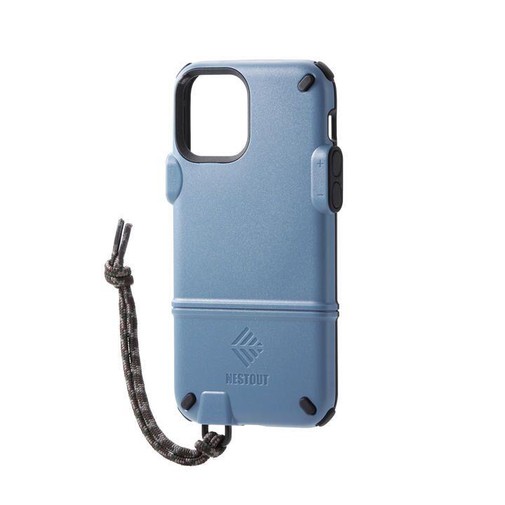 iPhoneケース NESTOUT トレッキング 登山 アウトドア スモーキーブルー iPhone 12/iPhone 12 Pro_0
