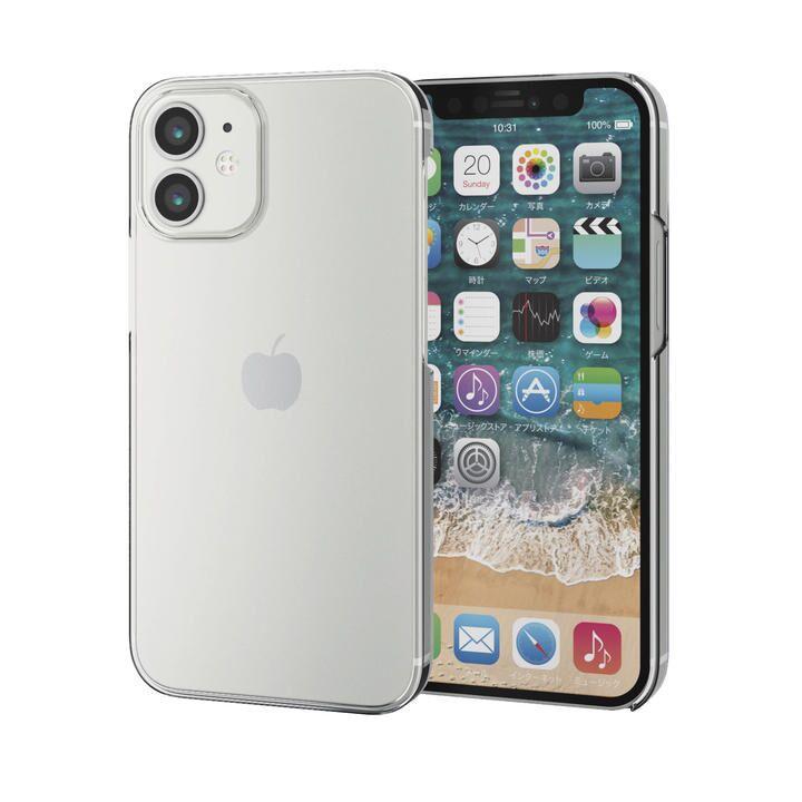 iPhoneケース シェルケース メガネフレーム素材 薄型  iPhone 12 mini_0